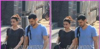 Soha Ali Khan and Kunal Kemmu workout together at gym – PHOTOS