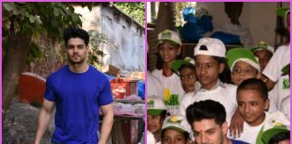 Sooraj Pancholi celebrates birthday with children of Smile Foundation – PHOTOS