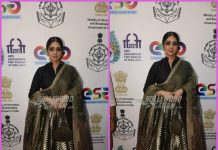 Sridevi inaugurates the Indian Panorama Section at the IFFI 2017 – PHOTOS