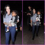 Sunny Leone and Daniel Weber make a happy appearance with Nisha at airport