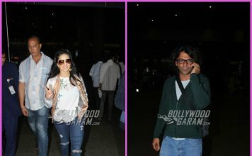 Sunny Leone and Sunil Grover on travel schedules – PHOTOS