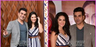 Arbaaz Khan and Sunny Leone in a fun mood as they promote Tera Intezaar – PHOTOS
