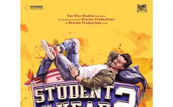 Student of The Year 2 first poster featuring Tiger Shroff out