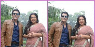 Vidya Balan and Manav Kaul promote Tumhari Sulu in Delhi – PHOTOS