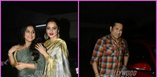Sachin Tendulkar and Rekha grace special screening of Tumhari Sulu – PHOTOS