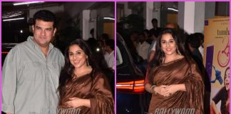 Vidya Balan and Siddharth Roy Kapur grace Tumhari Sulu screening – PHOTOS