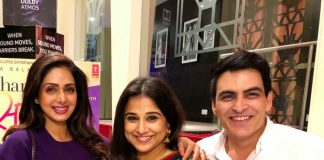 Sridevi wishes Vidya Balan on premiere of Tumhari Sulu