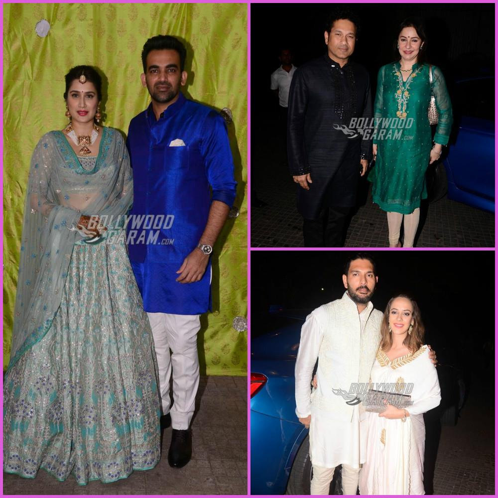 Zaheer Khan & Sagarika Ghatge, Host Grand Reception after Wedding