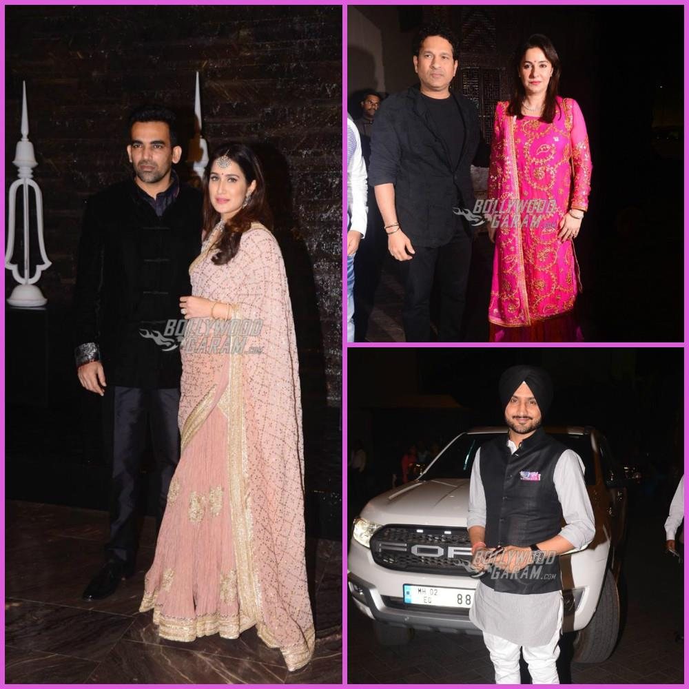 Zaheer Khan and Sagarika Ghatge host a low-key wedding reception