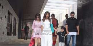 Shilpa Shetty spends some fun leisure time with family at popular restaurant in Mumbai – PHOTOS