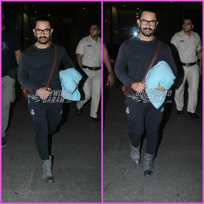 Aamir Khan airport