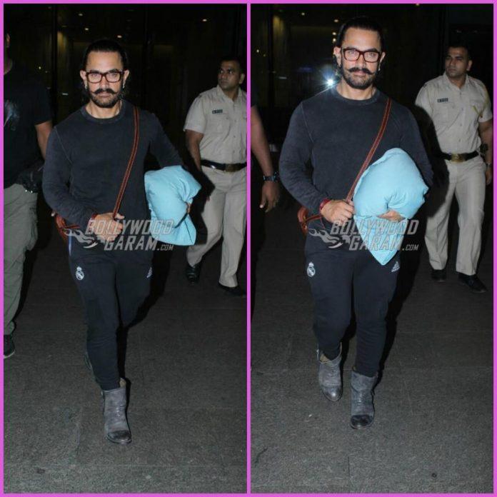 Aamir Khan airport