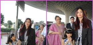 Aishwarya Rai Bachchan and Aaradhya Bachchan all smiles and chatty at airport