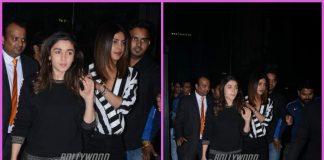 Priyanka Chopra and Alia Bhatt spend girl time over dinner
