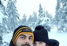 Anushka Sharma and Virat Kohli share a honeymoon picture