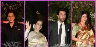 Bollywood stars and cricketers grace Anushka Sharma and Virat Kohli's wedding reception
