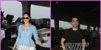 Ileana D'Cruz and Arbaaz Khan make a style splash at Mumbai airport