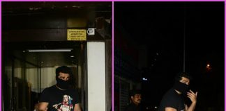 Arjun Kapoor hides his look for Namastey Canada at Anshula Kapoor's birthday