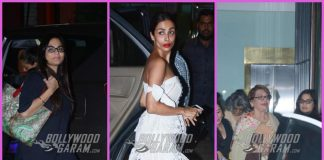 Malaika Arora, Helen and others at a party Arpita Khan's house