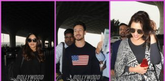 Tiger Shroff, Parineeti Chopra and Bhumi Pednekar on a pleasant day at airport