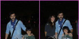 Emraan Hashmi and family off to Singapore for holiday