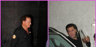 Salim Khan accompanies Salman Khan at premiere of Tiger Zinda Hai