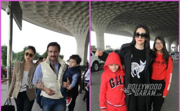 Khan and Kapoor family depart for first birthday celebrations of Taimur Ali Khan