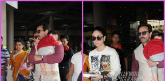 Kareena Kapoor, Saif Ali Khan with son Taimur Ali Khan return from Pataudi Palace