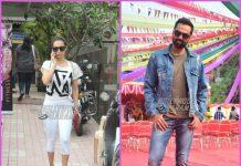 Malaika Arora hits gym while Abhay Deol busy at work
