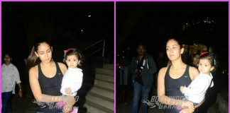 Mira Rajput on a casual outing with daughter Misha