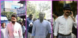 Abhishek Bachchan, Paresh Rawal and others attend funeral of Neeraj Vohra