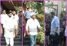 B'Town celebrities pay their  last respects at  funeral procession of Neeraj Vora