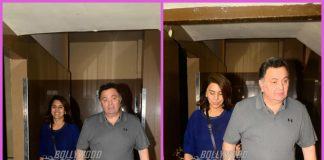 Rishi Kapoor and Neetu Kapoor spend casual time together