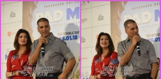 Akshay Kumar and Twinkle Khanna launch song Aaj Se Teri from Padman