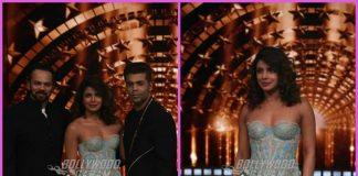 Priyanka Chopra shoots for India's Next Superstar with Rohit Shetty and Karan Johar