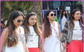 Rani Mukherji spends time with close friend Vaibhavi Merchant