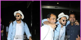 Ranveer Singh makes a quirky yet stylish appearance at airport