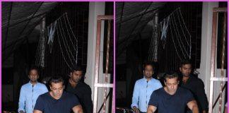 Salman Khan goes on a bike ride