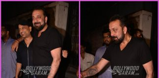 Sanjay Dutt looks great at a friend's bash in Mumbai