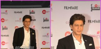 Shah Rukh Khan graces Filmfare Awards press event