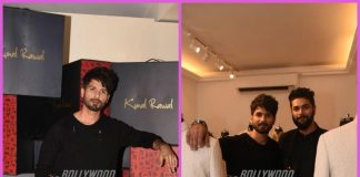 Shahid Kapoor graces store launch of designer Kunal Rawal