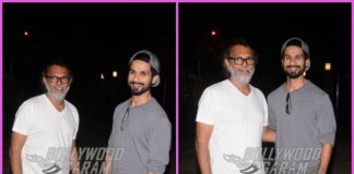 Shahid Kapoor has a casual meet with Rakeysh Omprakash Mehra