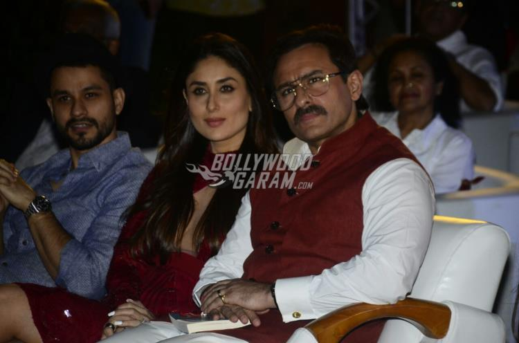 Soha Ali Khan, Saif Ali Khan and Kareena Kapoor