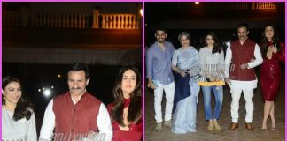 Soha Ali Khan launches book amidst family members