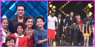 Govinda and Raveena Tandon win hearts on sets of Super Dancer