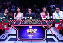 Salman Khan and Katrina Kaif promote Tiger Zinda Hai on sets of Super Dancer Chapter 2