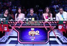 Salman Khan and Katrina Kaif promote Tiger Zinda Hai on sets of Super Dancer Chapter 2