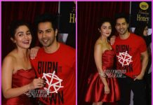 Varun Dhawan and Alia Bhatt sizzle at Nickelodeon Kids Choice Awards 2017