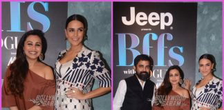 Sabyasachi Mukherjee and Rani Mukherji shoot for BFFs With Vogue with Neha Dhupia