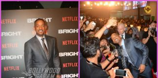 Will Smith with his Bright team grace premiere in Mumbai